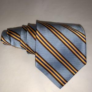 BROOKS BROTHERS MAKERS Ribbed Triple Stripe Tie